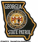 Georgia State Patrol Badge