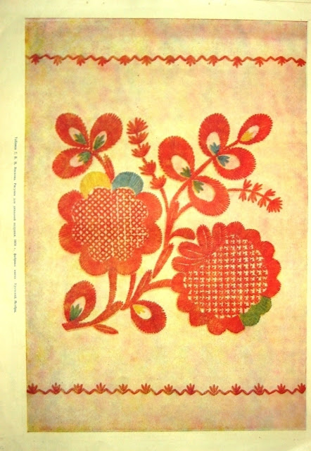 Владимирская вышивка цветы