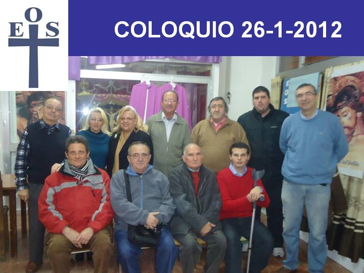 PRIMER COLOQUIO AO 2012
