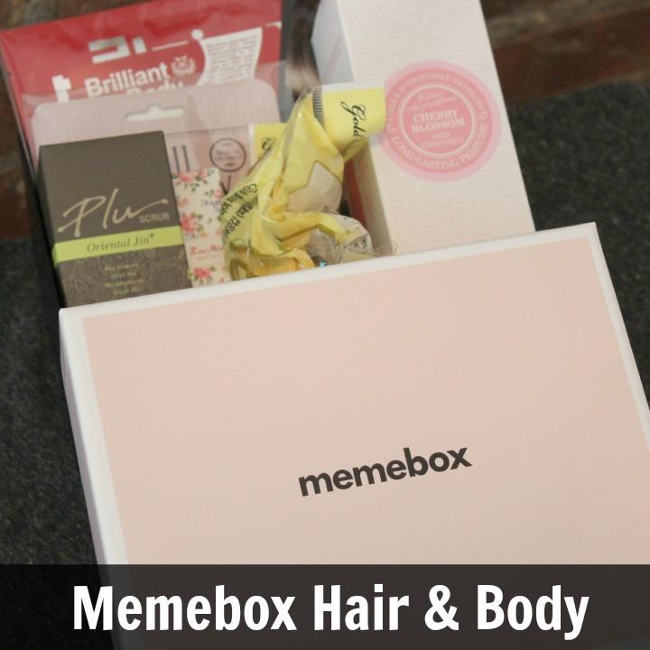 Memebox Hair & Body #1