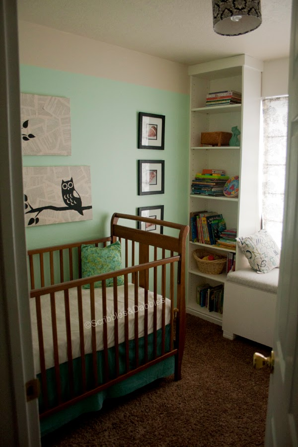Scribbles&Dabbles: Nursery Makeover
