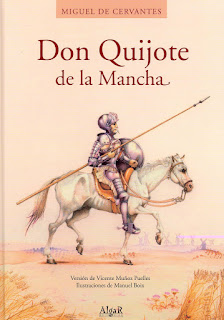 Portada del libro El quijote del autor Cervantes