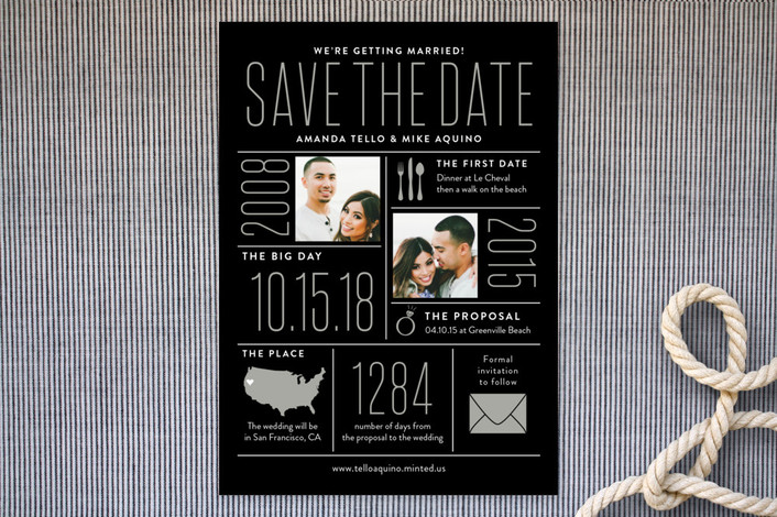 infographic save the dates