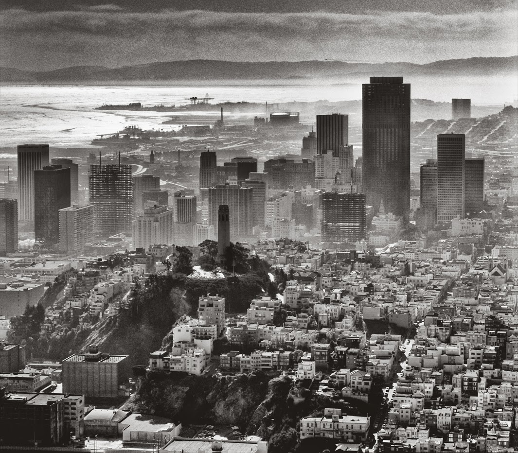 stunning black and white photographs of san francisco from