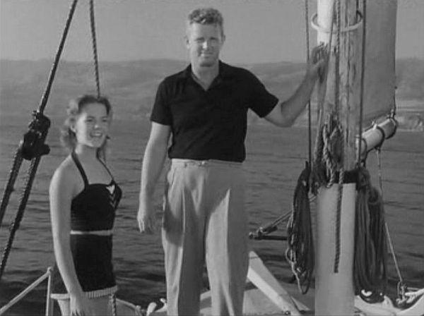 Con Sterling Hayden en La Estrella (1952)
