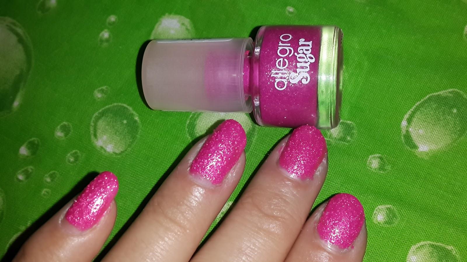 Loca X Los Esmaltes..: Hot Pink-Allegro
