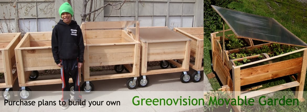 Greenovision Movable Gardens