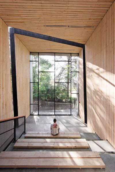 David mccauley interior design mutar arquitectos espacio for Espacio interior