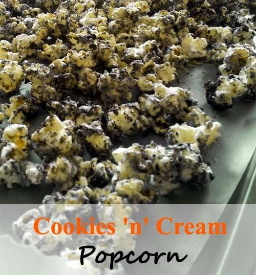 Cookies 'n Cream Popcorn