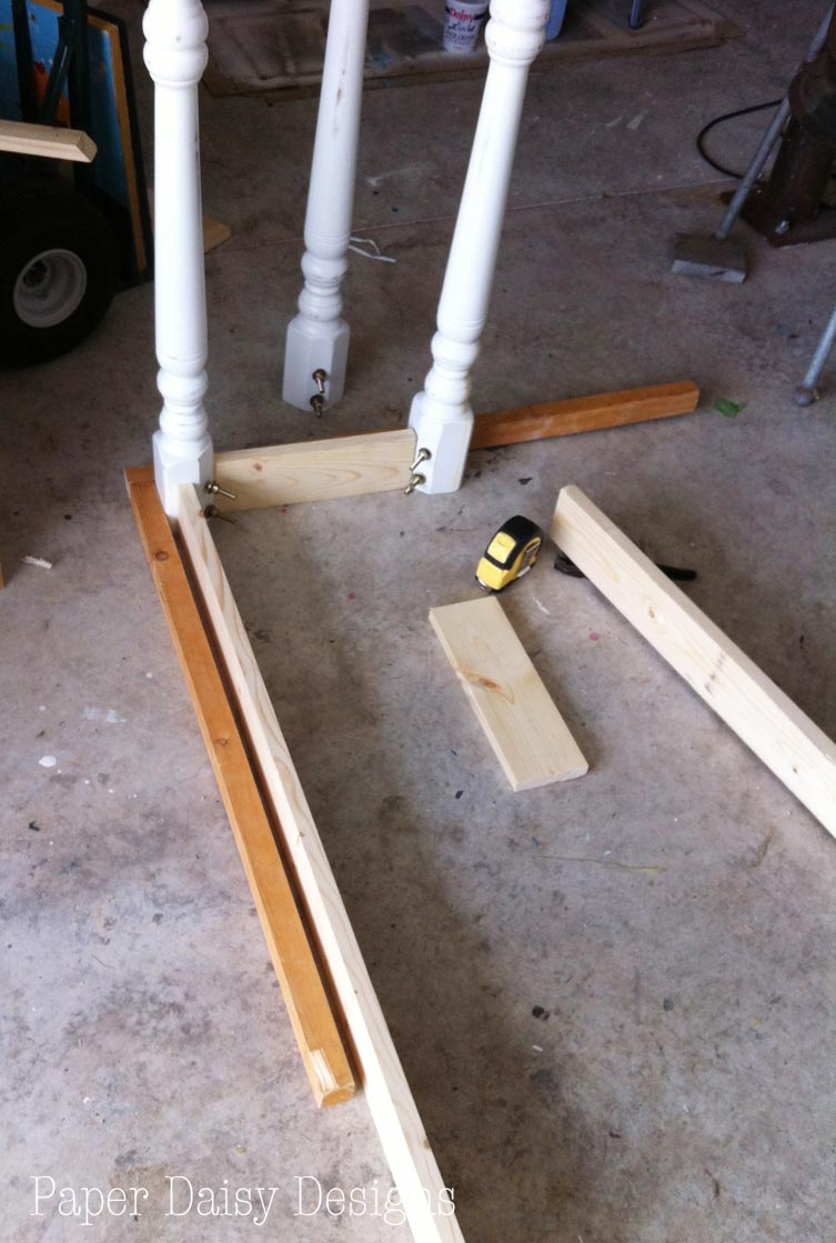 How to make a sofa table from 1 x 6 lumber - How To Build A Sofa Table With Existing Legs