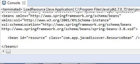 Spring Resource Loader with example