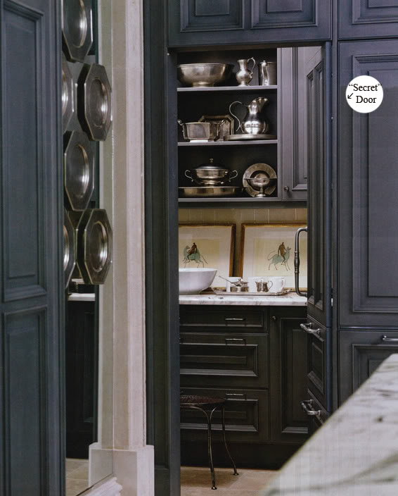 I Really Like The Secret Passage Feel To This One (pantry Door Is Disguised  As More Cupboards). From A Practical Perspective, ...