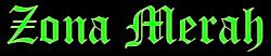 logo Zona Merah