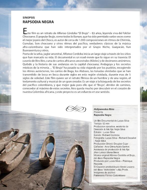 SINOPSIS FILM RAPSODIA NEGRA