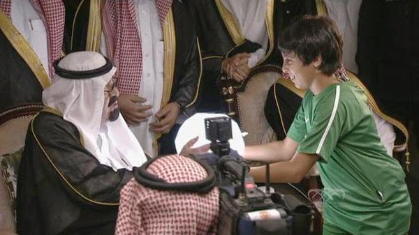 """خادم الحرمين الشريفين، الملك عبدالله بن عبدالعزيز، يفتتح استاد """"الجوهرة"""" بجدة"""