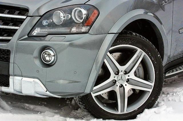mercedes ml63 amg front bumper