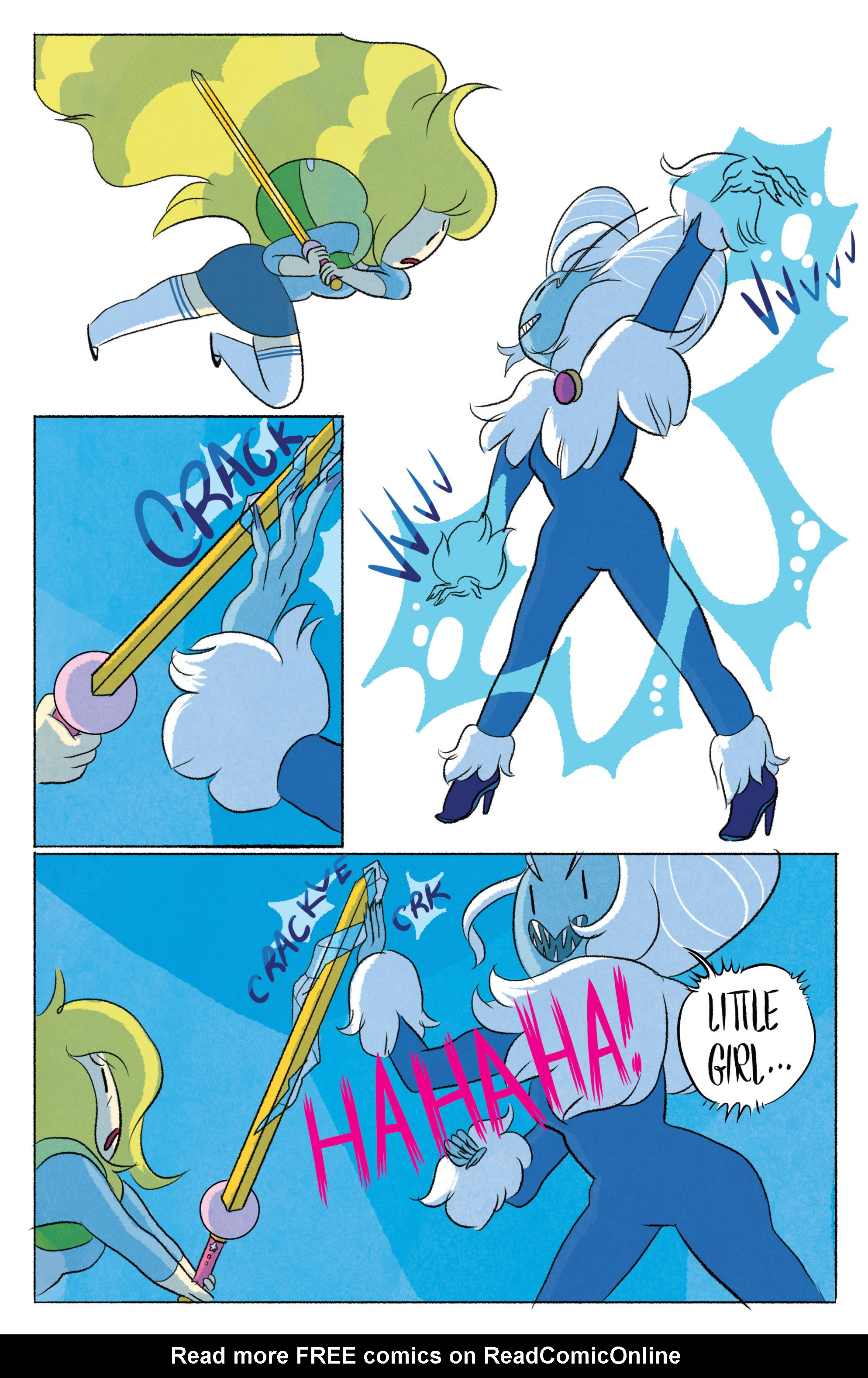 Read online Adventure Time with Fionna & Cake comic -  Issue #5 - 20
