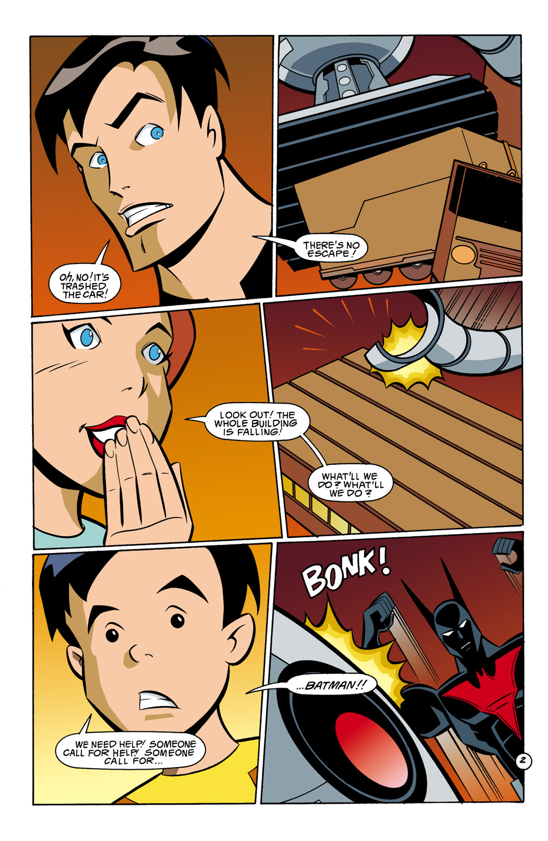 Batman Beyond [II] Issue #10 #10 - English 3