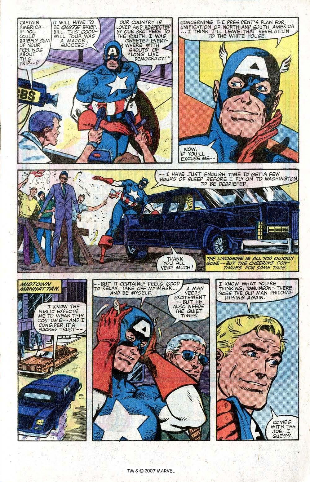 Captain America (1968) Issue #264 #179 - English 5