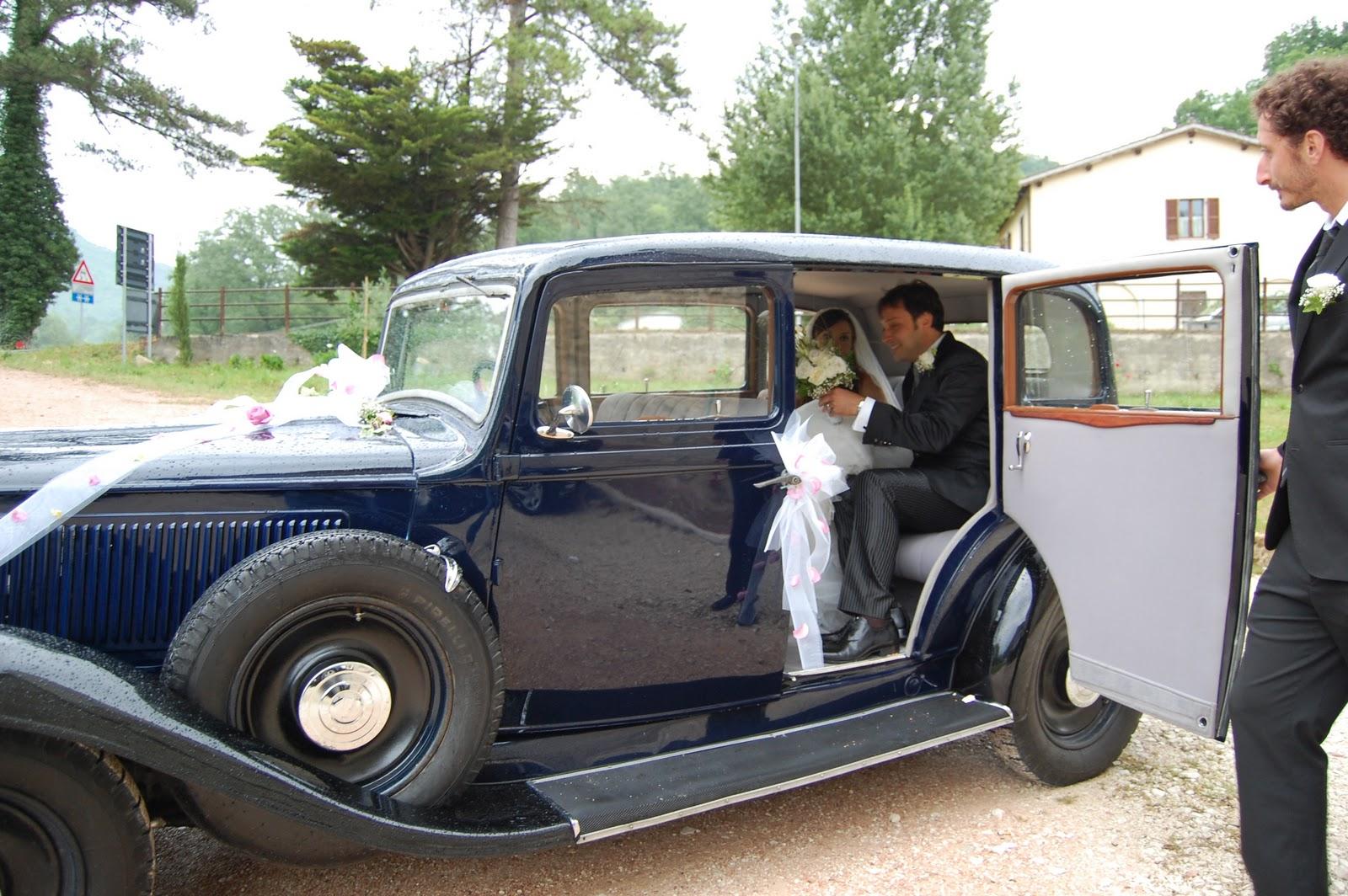 auto autista matrimonio