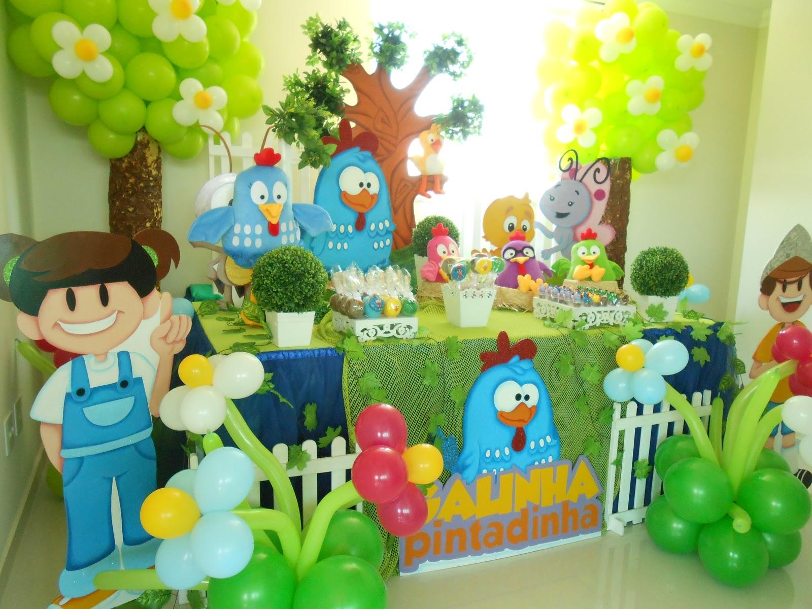 Festa Surpresa BH Galinha Pintadinha