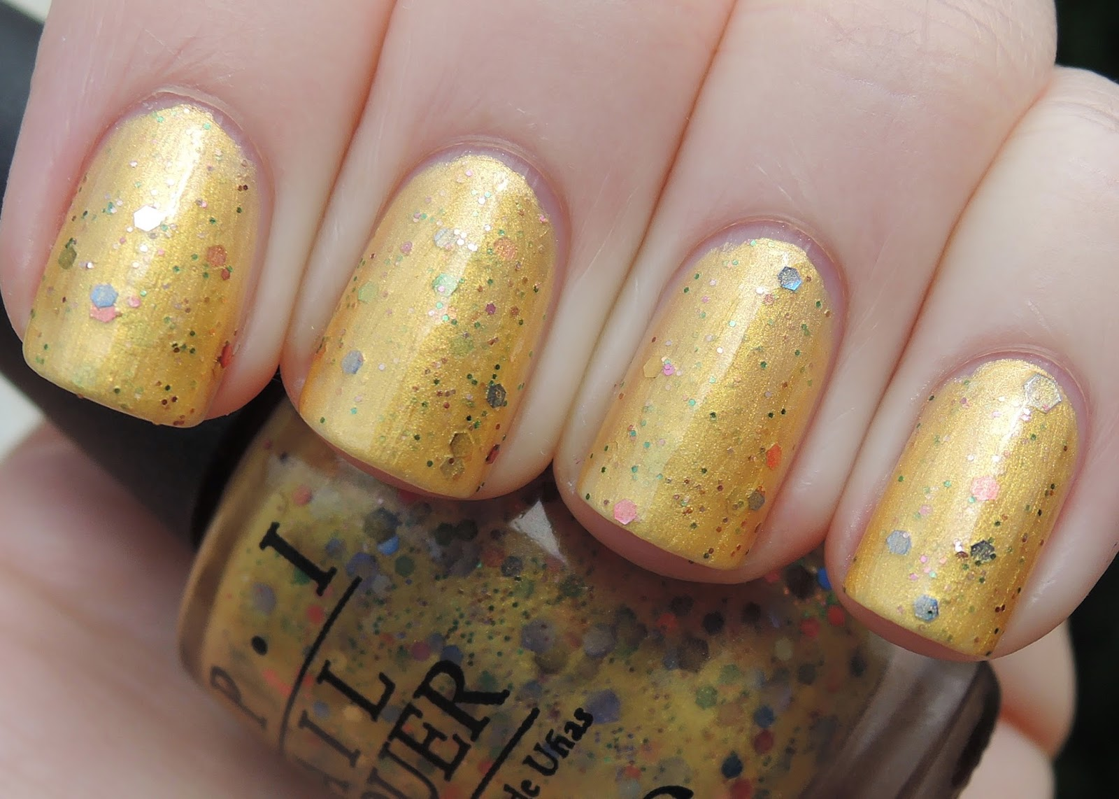 OPI Pineapples Have  Peelings Too!