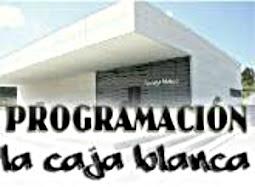 Agenda de Eventos en La Caja Blanca para este mes:
