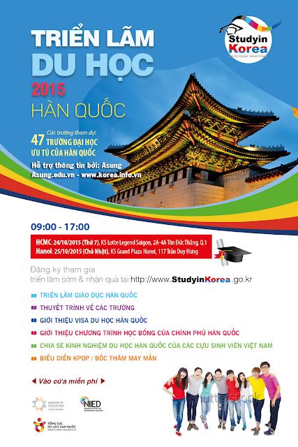 Thông tin triển lãm giáo dục Hàn Quốc 2015