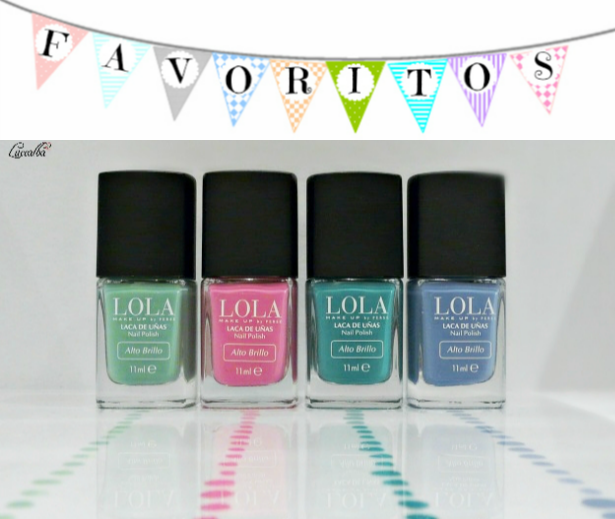 Esmaltes LOLA MAKE UP