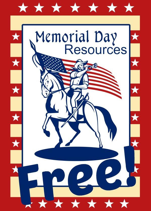 Memorial Day Free Homeschool Printables And Resources (and Recipes Too)
