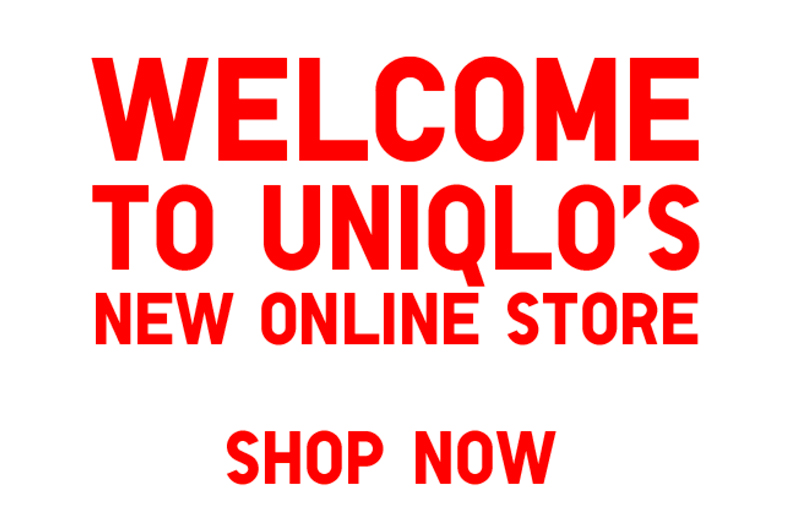 Online shopping uniqlo