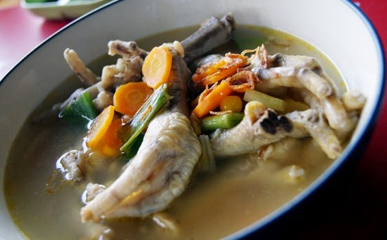Resep Sup Ceker