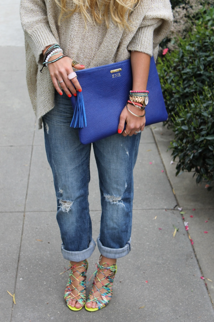 After dark outfit post prabal gurung sandals boyfriend jeans