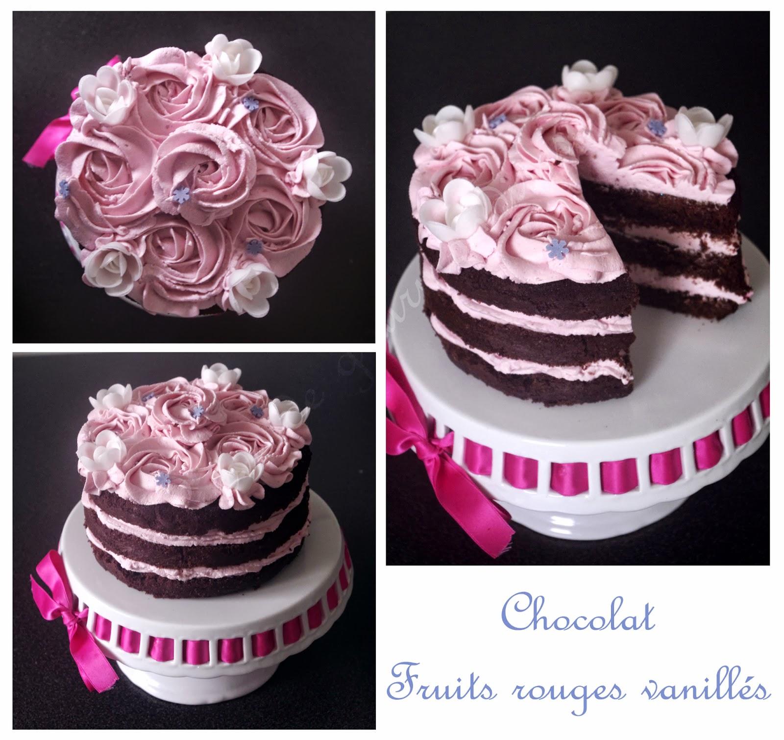 Cake Design Et Les Fruit Frais