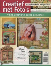 Dutch scrapbook magazine