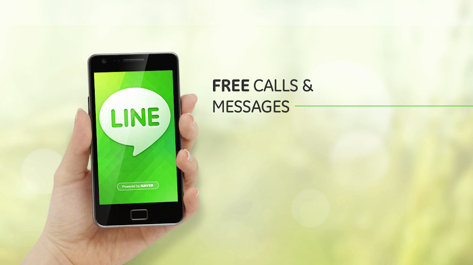 LINE Free calls and messages
