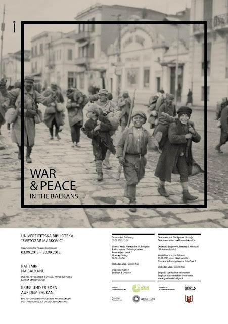 "Otvorena izložba ""Rat i mir na Balkanu"""