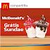 Amostras Grátis - Sundae 2×1 no McDonald's: Pague 1 e leve 2!