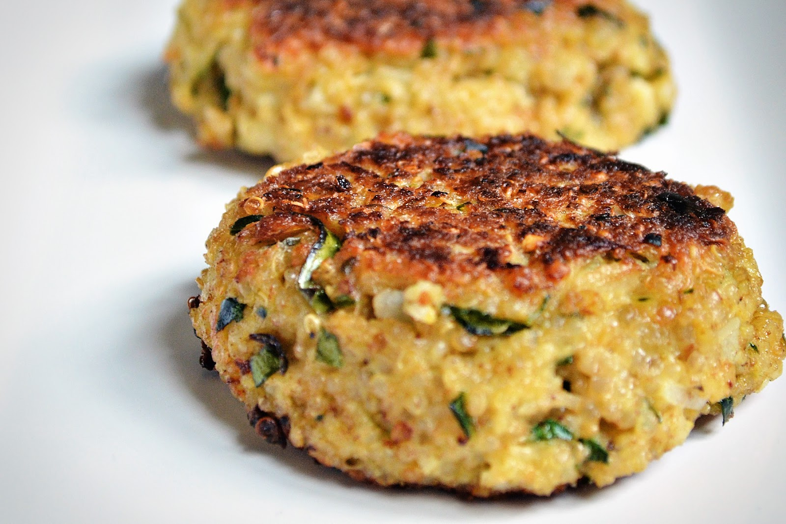 Since we typically make crock-pot meals, I haven't made quinoa patties ...