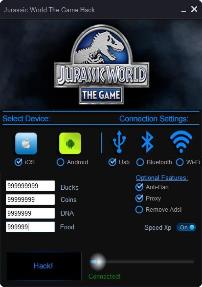 Jurassic World The Game Hack Cheat Tool  Keygen amp; Hack