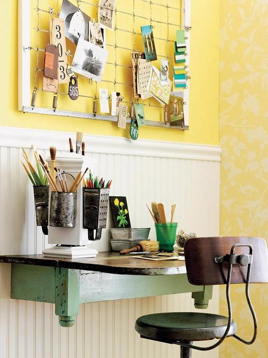 Un rinc n de estudio en casa ideas para decorar dise ar for Ideas para un estudio en casa