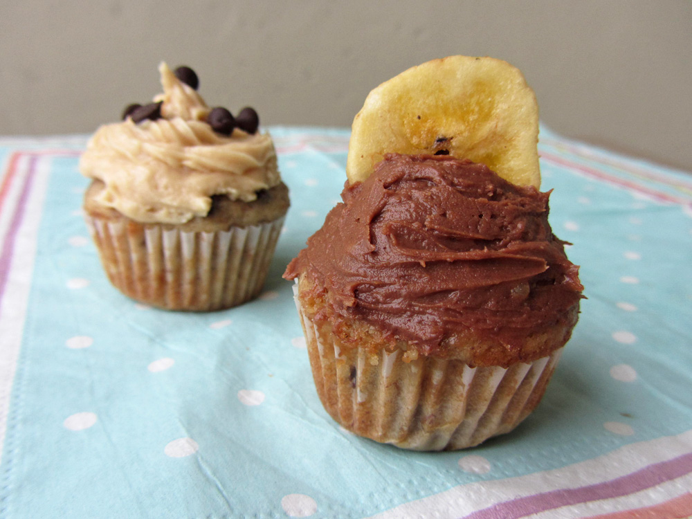 chocolate cream cheese frosting cupcake
