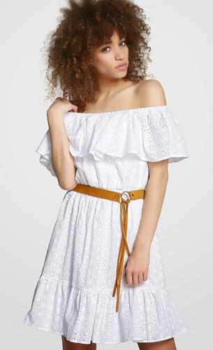 vestido blanco verano Formula Joven El Corte Inglés