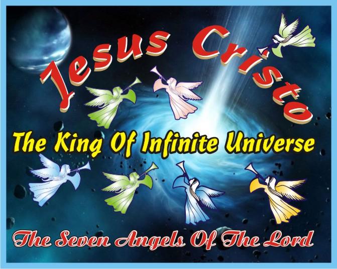 O Rei do Universo Infinito Jesus Cristo