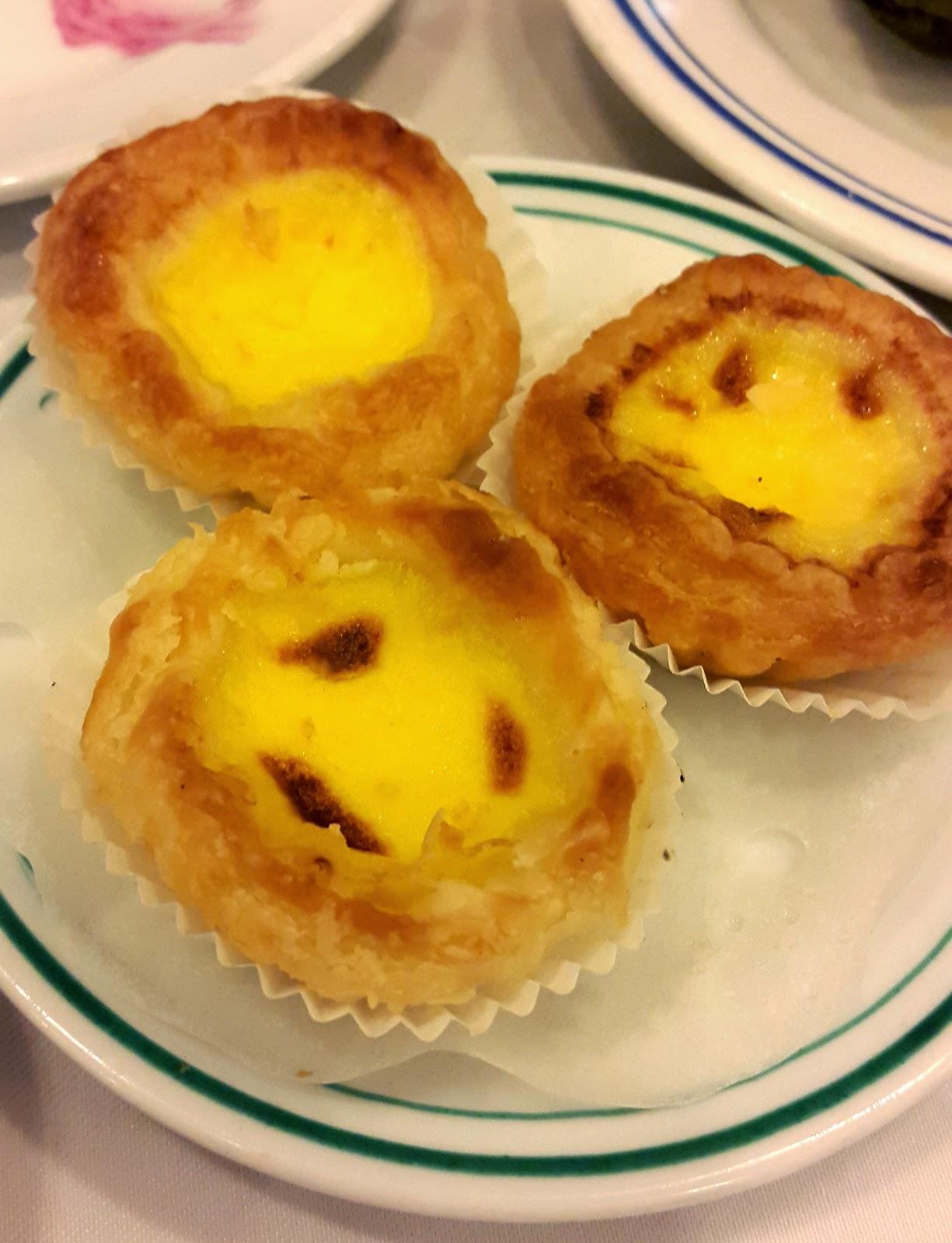 Egg tarts Luk Yu Tea House Hong Kong