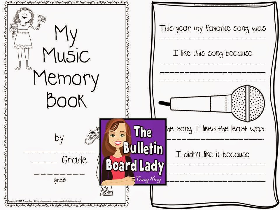 http://www.teacherspayteachers.com/Product/Music-Memory-Book-for-End-of-the-Year-in-the-Music-Room-710959