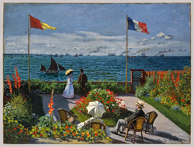 Garden at Sainte–Adresse - Monet