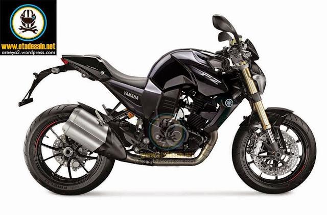 kumpulan modifikasi motor byson warna hitam