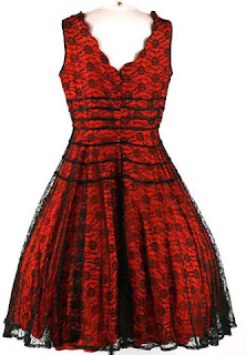 red cocktail dresses