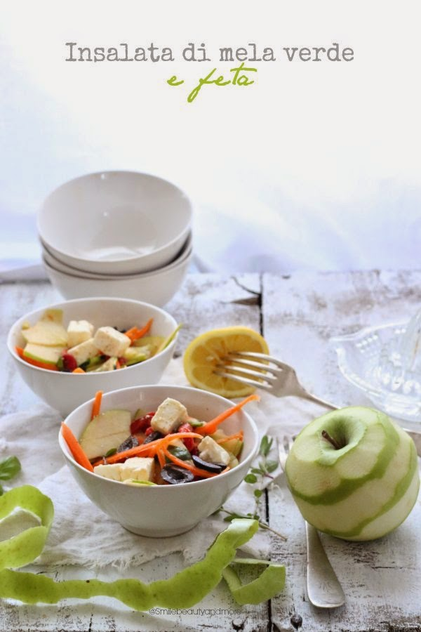 insalata di mela verde e feta per taste&more n.10
